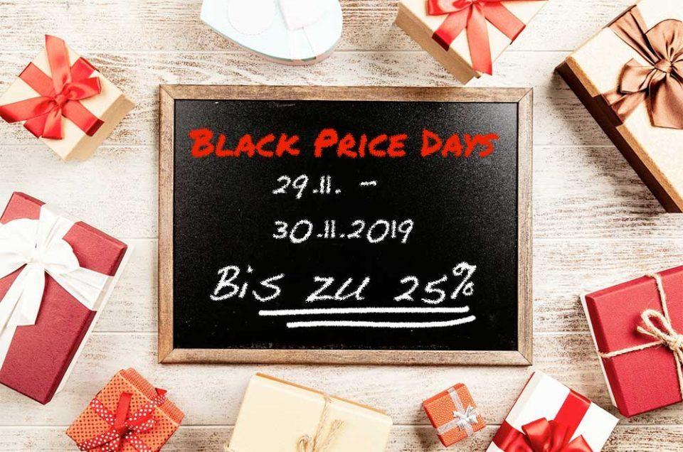 Black Price Weekend 29.11. – 30.11.19
